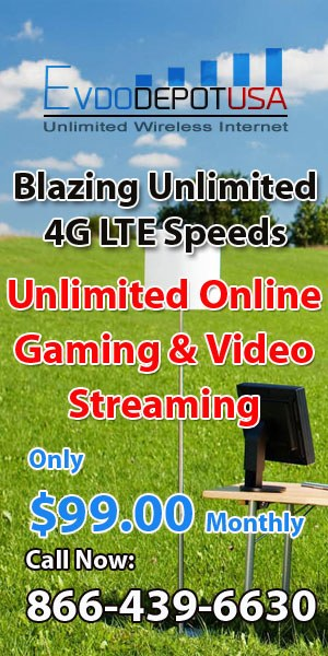 Ad for Unlimited 4G LTE Service